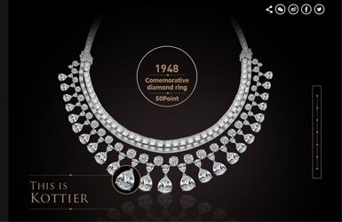 柯蒂尔珠宝钻戒案例图片